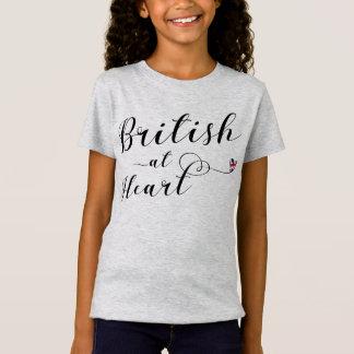 British At Heart Tee Shirt, Great Britain