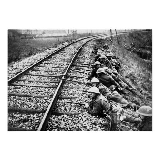British at Ypres Print