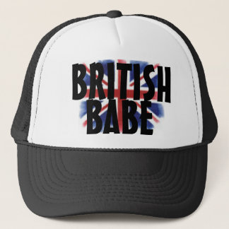 British Babe Snapback Trucker Hat