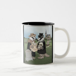 British Badgers Behaving Badly Mug
