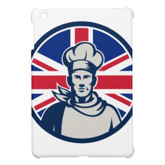 British Baker Chef Union Jack Flag Icon iPad Mini Cover