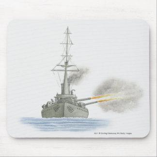 British battle cruiser mouse pad