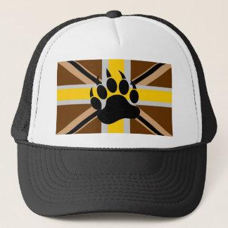 British Bear Pride Flag Trucker Hat
