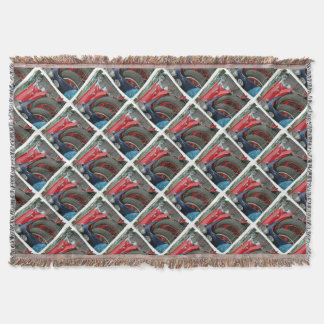 BRITISH BEAUTIES - Photography Jean Louis Glineur Throw Blanket