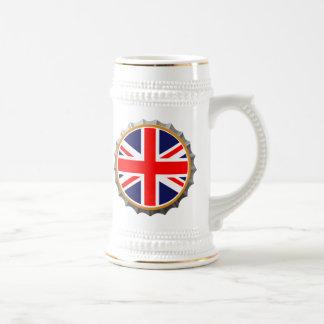 British beer stein
