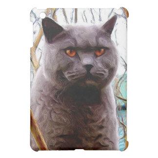 British Blue Cat Speck Case iPad Mini Cover