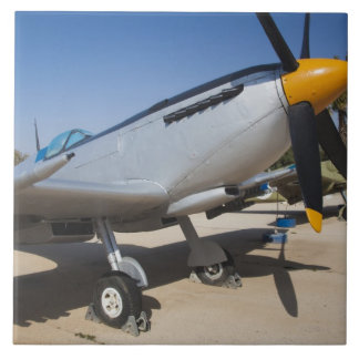 British-built Spitfire fighter Large Square Tile