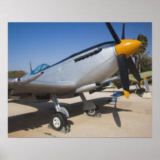 British-built Spitfire fighter Poster