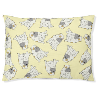 British Bull Dog Yellow bed
