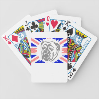 British Bulldog Bicycle Playing Cards