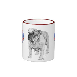 British Bulldog Coffee Mugs