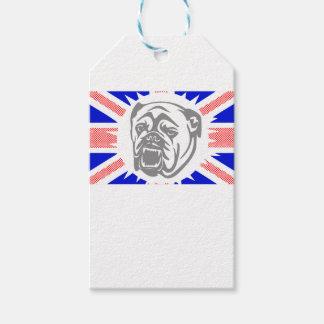 British Bulldog Gift Tags
