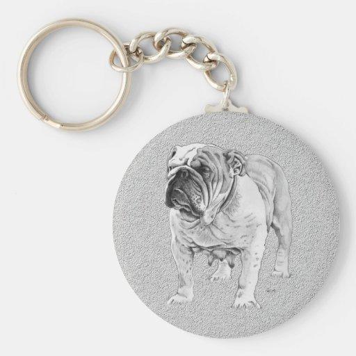 British Bulldog Key Chains