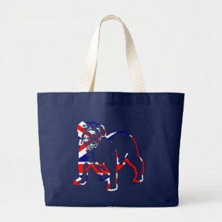 British Bulldog Large Tote Bag