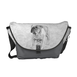 British Bulldog Messenger Bag