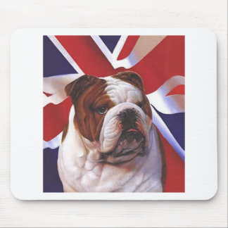BRITISH BULLDOG MOUSE PAD