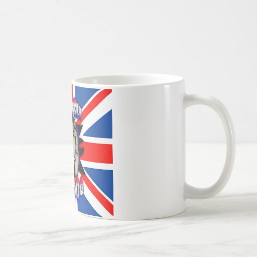 British Bulldog Mug, With Union Jack