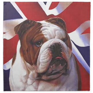 BRITISH BULLDOG NAPKIN