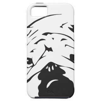 British Bulldog Stencil iPhone 5 Cover