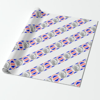 British Bulldog Wrapping Paper
