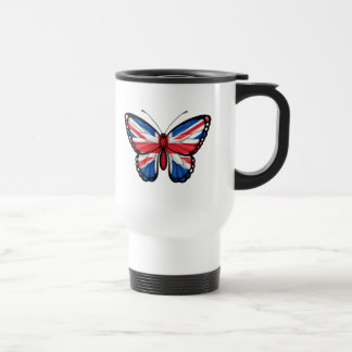 British Butterfly Flag Travel Mug