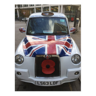 British Cab Postcard