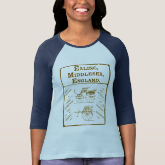British carriages Ad - the England carriage - T-Shirt
