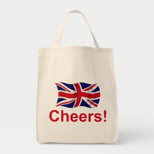 British Cheers! Canvas Bags