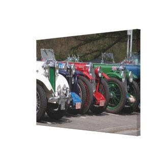 British classic cars ~ photo: Jean Louis Glineur Canvas Print