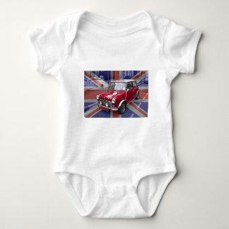 British Classic Mini car Baby Bodysuit