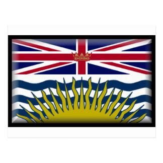 British Columbia (Canada) Flag Postcard