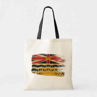 British Columbia Flag Canvas Bags