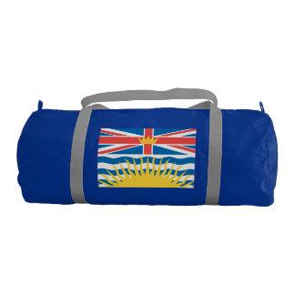 BRITISH COLUMBIA Flag Gym Duffel Bag