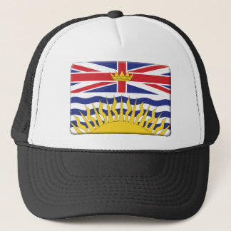 British Columbia Flag PERSONALIZE Trucker Hat