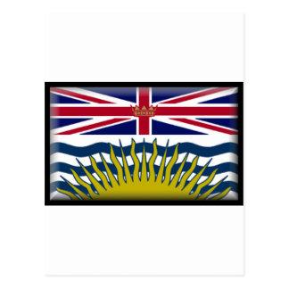 British Columbia Flag Postcards