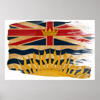 British Columbia Flag Posters