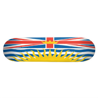 British Columbia Flag Skateboard