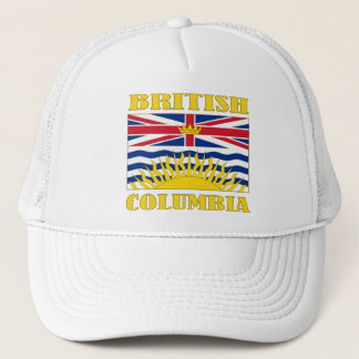 British Columbia-Flag Trucker Hat
