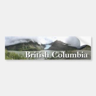 British Columbia Glaciers Bumper Sticker