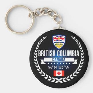 British Columbia Key Ring