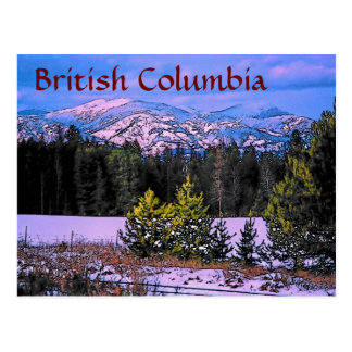 British Columbia Postcard