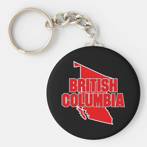 British Columbia Province Key Chains