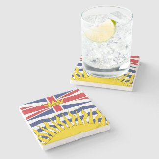 British Columbia Stone Coaster