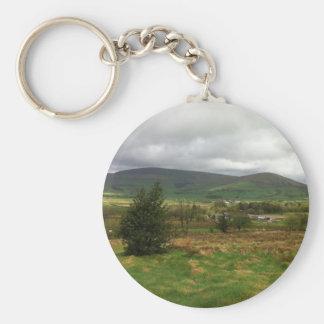 British Countryside Keychain
