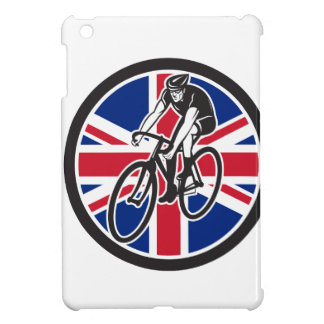 British Cyclist Cycling Union Jack Flag Icon Case For The iPad Mini