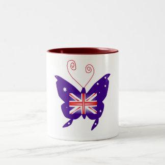 British Diva Butterfly Mugs