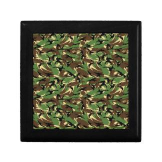British DPM Camo Small Square Gift Box