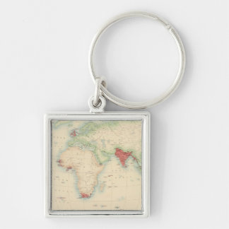 British Empire Keychain