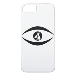 British eye iPhone 8/7 case
