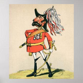 British Field Marshal Poster